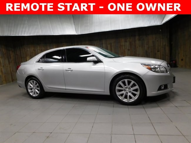 Used 2013 Chevrolet Malibu 2LT Sedan for Sale in Plymouth, IN at Auto Park Buick GMC