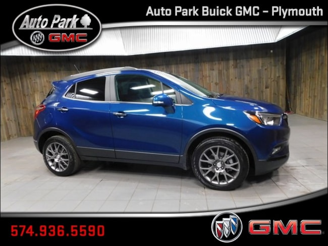 New 2019 Buick Encore Sport Touring SUV KL4CJ1SB4KB789754 for Sale in Plymouth, IN at Auto Park Buick GMC