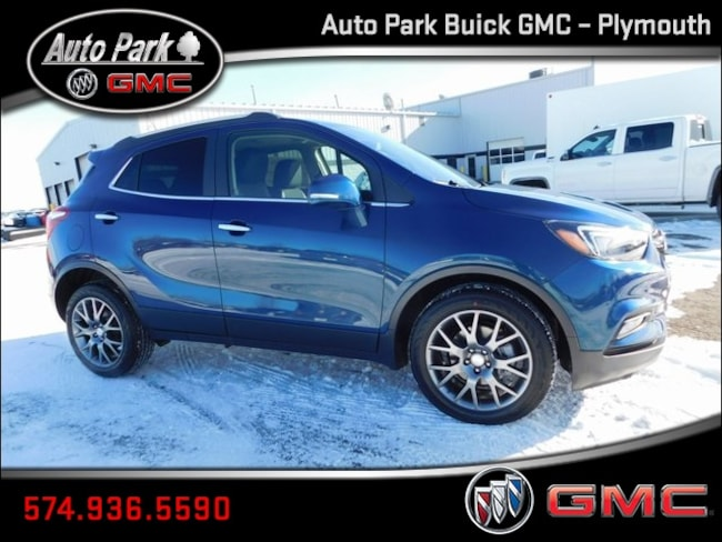 New 2019 Buick Encore Sport Touring SUV KL4CJ1SB4KB773246 for Sale in Plymouth, IN at Auto Park Buick GMC