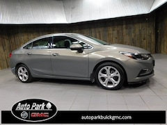 Used 2017 Chevrolet Cruze Premier Auto Sedan for Sale in Plymouth, IN at Auto Park Buick GMC