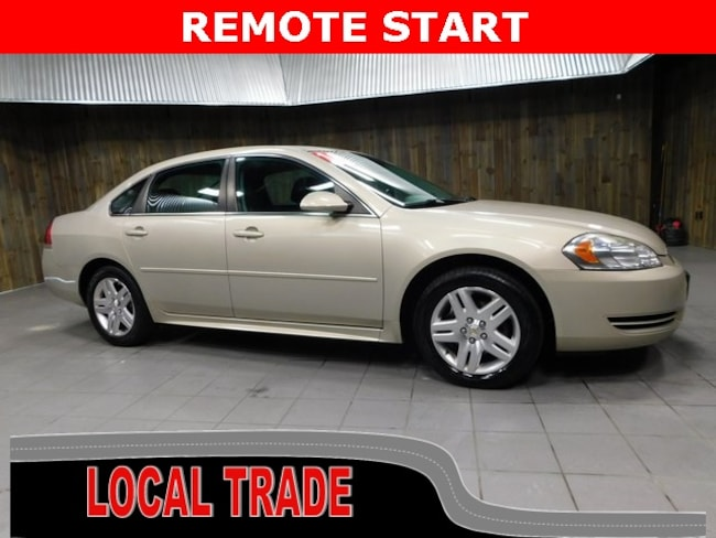 Used 2012 Chevrolet Impala LT (Fleet Only) Sedan for Sale in Plymouth, IN at Auto Park Buick GMC
