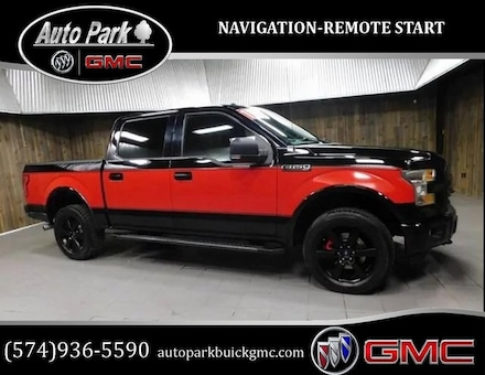 Used 2016 Ford F-150 Truck SuperCrew Cab for sale in Plymouth, IN at Auto Park Buick GMC