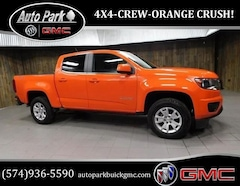 Used 2019 Chevrolet Colorado LT Truck Crew Cab 1GCGTCEN4K1196582 for Sale in Plymouth, IN at Auto Park Buick GMC