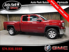 New 2019 GMC Sierra 1500 Limited SLE Truck Double Cab 2GTV2MEC0K1100617 for Sale in Plymouth, IN at Auto Park Buick GMC