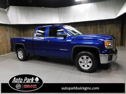 Used 2014 GMC Sierra 1500 SLE Truck Double Cab for sale in Plymouth, IN at Auto Park Buick GMC