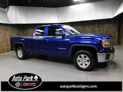 Used 2014 GMC Sierra 1500 SLE Truck Double Cab 1GTV2UEH2EZ209653 for Sale in Plymouth, IN at Auto Park Buick GMC
