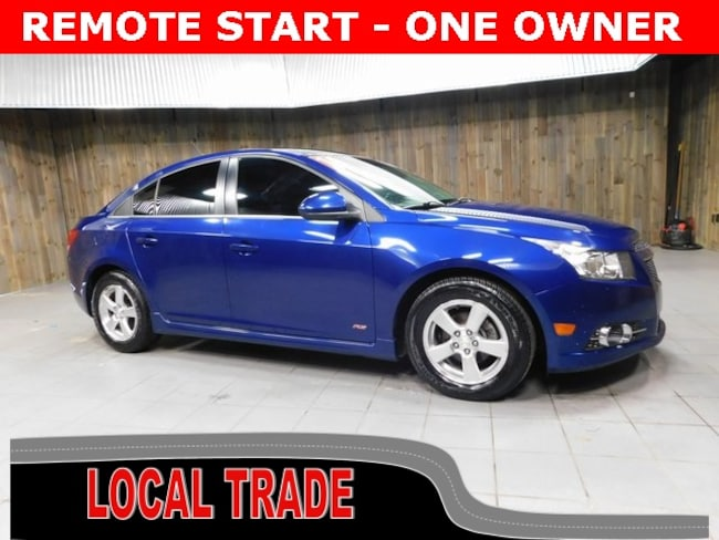Used 2013 Chevrolet Cruze 1LT Auto Sedan for Sale in Plymouth, IN at Auto Park Buick GMC
