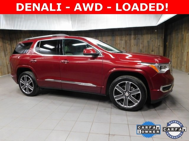Used 2017 GMC Acadia Denali SUV for sale in Plymouth, IN at Auto Park Buick GMC