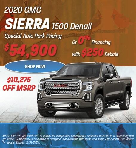 New 2020 GMC Sierra 1500 Denali | Sale Pricing