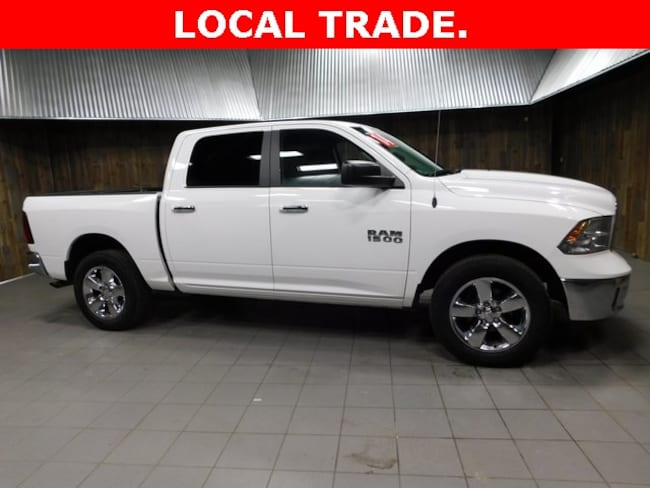 Used 2014 Ram 1500 SLT Truck Crew Cab for Sale in Plymouth, IN at Auto Park Buick GMC