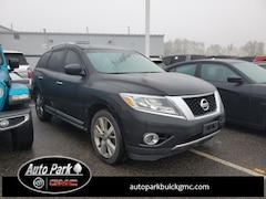 Used 2015 Nissan Pathfinder S SUV 5N1AR2MM3FC697668 for Sale in Plymouth, IN at Auto Park Buick GMC
