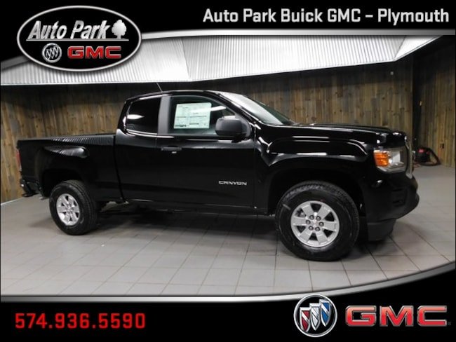 New 2019 GMC Canyon Truck Extended Cab 1GTH5AEA3K1343801 for Sale in Plymouth, IN at Auto Park Buick GMC