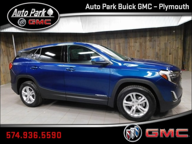 New 2019 GMC Terrain SLE SUV 3GKALMEV0KL271755 for Sale in Plymouth, IN at Auto Park Buick GMC