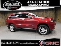 Used 2014 Jeep Grand Cherokee Summit 4x4 SUV 1C4RJFJG4EC362518 for Sale in Plymouth, IN at Auto Park Buick GMC