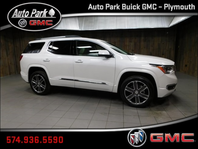 New 2019 GMC Acadia Denali SUV 1GKKNXLS1KZ148340 for Sale in Plymouth, IN at Auto Park Buick GMC