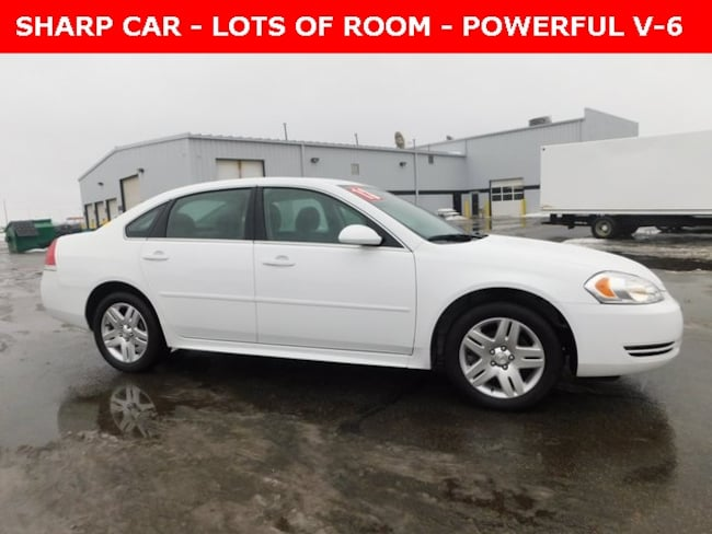 Used 2013 Chevrolet Impala LT Sedan for Sale in Plymouth, IN at Auto Park Buick GMC