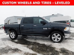 Used 2018 Ram 1500 Big Horn Truck Crew Cab 1C6RR7LTXJS262133 for Sale in Plymouth, IN at Auto Park Buick GMC