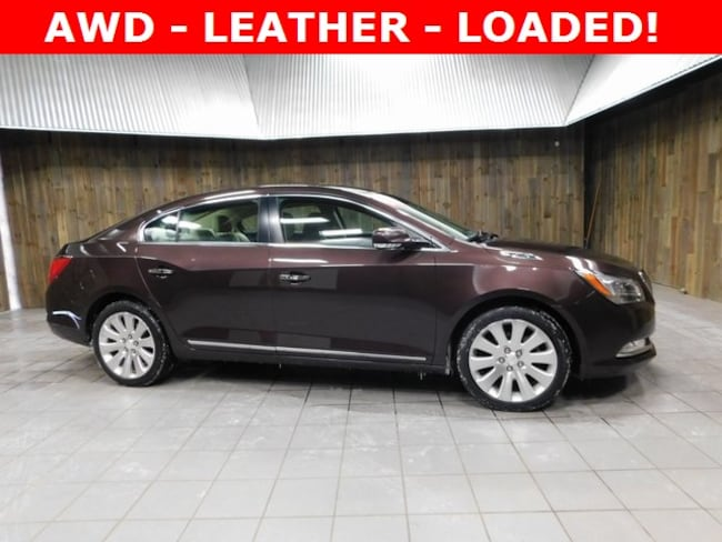 Used 2015 Buick LaCrosse Leather Sedan for Sale in Plymouth, IN at Auto Park Buick GMC