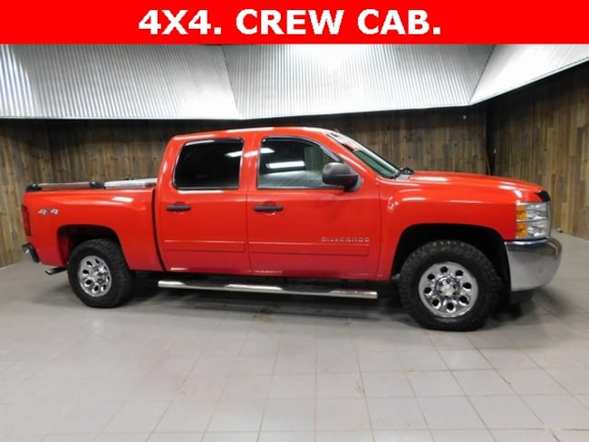 Used 2013 Chevrolet Silverado 1500 LT Truck Crew Cab for Sale in Plymouth, IN at Auto Park Buick GMC