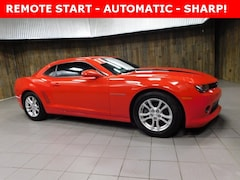 Used 2015 Chevrolet Camaro LT w/1LT Coupe 2G1FD1E32F9120445 for Sale in Plymouth, IN at Auto Park Buick GMC