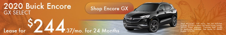 New 2020 Buick Encore GX | Lease