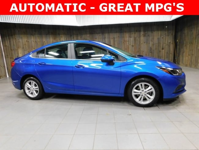 Used 2017 Chevrolet Cruze LT Auto Sedan for Sale in Plymouth, IN at Auto Park Buick GMC