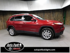 Used 2015 Jeep Cherokee Limited 4x4 SUV 1C4PJMDS1FW724977 for Sale in Plymouth, IN at Auto Park Buick GMC