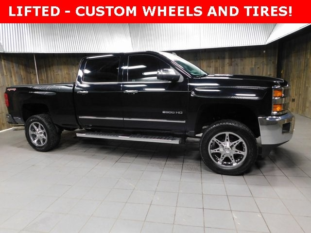 Used 2016 Chevrolet Silverado 2500HD LTZ Truck Crew Cab for sale in Plymouth, IN at Auto Park Buick GMC