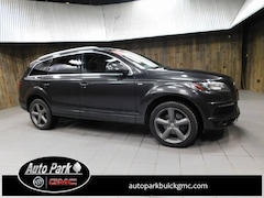 Used 2015 Audi Q7 3.0T Premium (Tiptronic) SUV for Sale in Plymouth, IN at Auto Park Buick GMC
