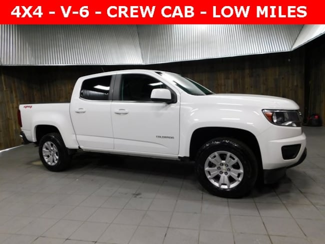 Used 2019 Chevrolet Colorado LT Truck Crew Cab for Sale in Plymouth, IN at Auto Park Buick GMC