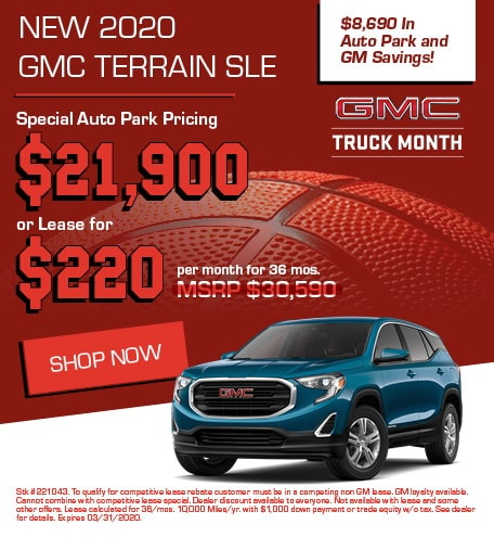 New 2020 GMC Terrain | Sale