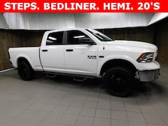 Used 2018 Ram 1500 Big Horn Truck Crew Cab 1C6RR7TT9JS301049 for Sale in Plymouth, IN at Auto Park Buick GMC