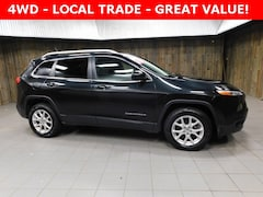 Used 2015 Jeep Cherokee Latitude 4x4 SUV 1C4PJMCB3FW639611 for Sale in Plymouth, IN at Auto Park Buick GMC