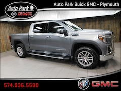 New 2019 GMC Sierra 1500 SLT Truck Crew Cab 1GTU9DED9KZ179146 for Sale in Plymouth, IN at Auto Park Buick GMC