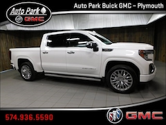New 2019 GMC Sierra 1500 Denali Truck Crew Cab 1GTU9FEL7KZ297604 for Sale in Plymouth, IN at Auto Park Buick GMC