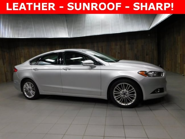 Used 2015 Ford Fusion SE Sedan for Sale in Plymouth, IN at Auto Park Buick GMC