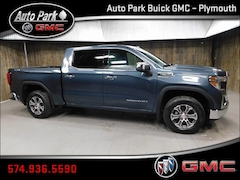 New 2019 GMC Sierra 1500 SLT Truck Crew Cab 1GTU9DED4KZ152520 for Sale in Plymouth, IN at Auto Park Buick GMC