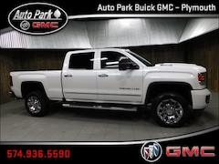 New 2019 GMC Sierra 2500HD Denali Truck Crew Cab 1GT12SEY9KF202991 for Sale in Plymouth, IN at Auto Park Buick GMC