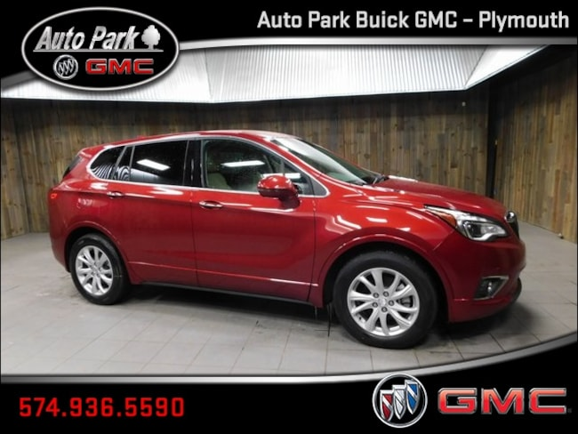 New 2019 Buick Envision Preferred SUV LRBFXBSA9KD039400 for Sale in Plymouth, IN at Auto Park Buick GMC