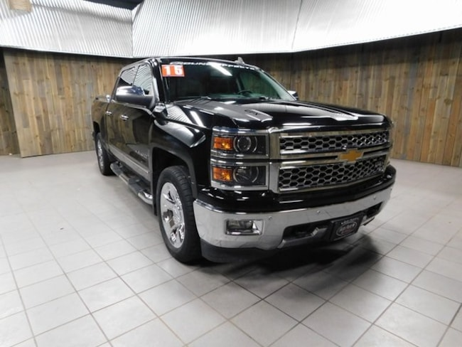 Used 2015 Chevrolet Silverado 1500 For Sale in Plymouth IN Near South Bend  & Mishawaka IN   B01339