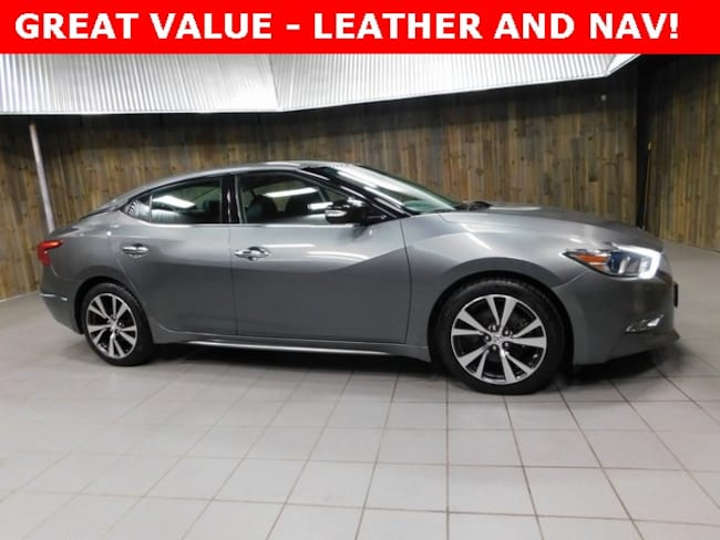 Used 2017 Nissan Maxima 3.5 Sedan for Sale in Plymouth, IN at Auto Park Buick GMC