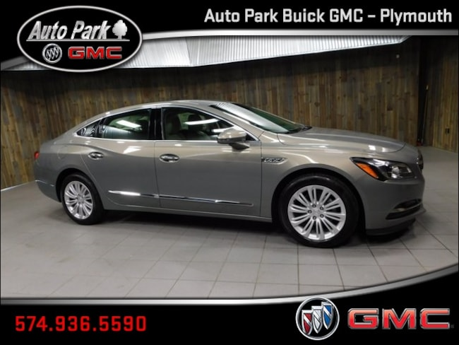 New 2019 Buick LaCrosse Preferred Sedan 1G4ZN5SZ1KU101086 for Sale in Plymouth, IN at Auto Park Buick GMC