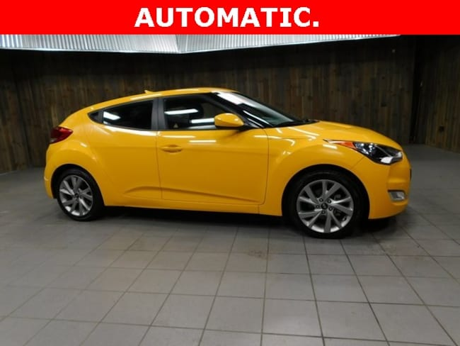 Used 2017 Hyundai Veloster Base Hatchback for Sale in Plymouth, IN at Auto Park Buick GMC