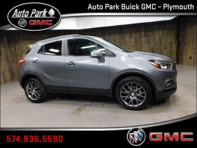 New 2019 Buick Encore Sport Touring SUV KL4CJ1SB4KB780794 for Sale in Plymouth, IN at Auto Park Buick GMC