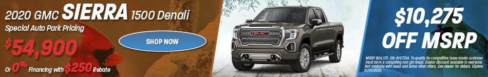 New 2020 GMC Sierra 1500 Denali | Sale Pricing