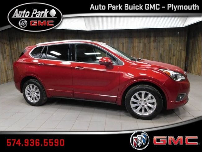 New 2019 Buick Envision Essence SUV LRBFX2SA9KD065303 for Sale in Plymouth, IN at Auto Park Buick GMC