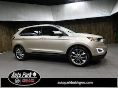 Used 2018 Ford Edge Titanium SUV 2FMPK4K80JBB34182 for Sale in Plymouth, IN at Auto Park Buick GMC
