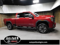 New 2020 GMC Sierra 3500HD AT4 Truck Crew Cab 1GT49VE7XLF249496 for Sale in Plymouth, IN at Auto Park Buick GMC