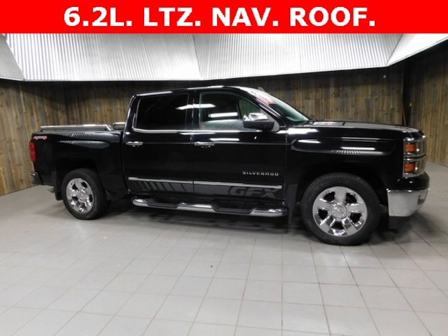 Used 2015 Chevrolet Silverado 1500 LTZ Truck Crew Cab for Sale in Plymouth, IN at Auto Park Buick GMC