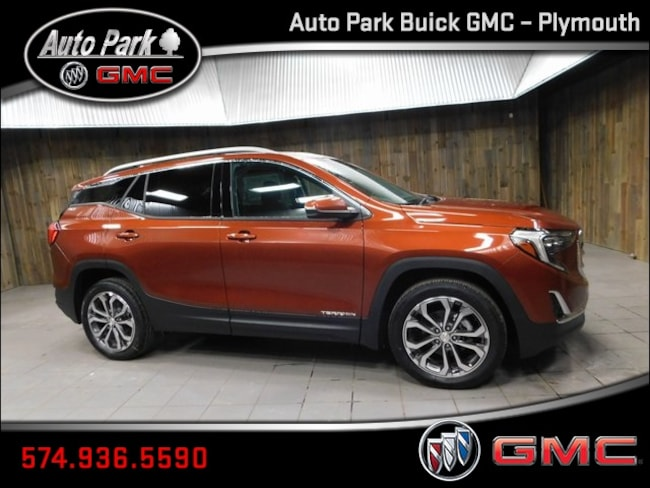 New 2019 GMC Terrain SLT SUV 3GKALPEV4KL270190 for Sale in Plymouth, IN at Auto Park Buick GMC